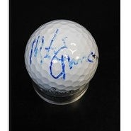 Signed Eruzione Mike Callaway Golf Ball Faded Signature autographed