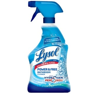 Lysol 85668 Power And Free Bathroom Cleaner, Cool Spring Breeze, 22 Oz