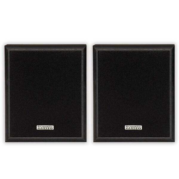 Acoustic Audio RW-SP3 Bookshelf Speakers 100 Watt 2 Way Home Audio Pair