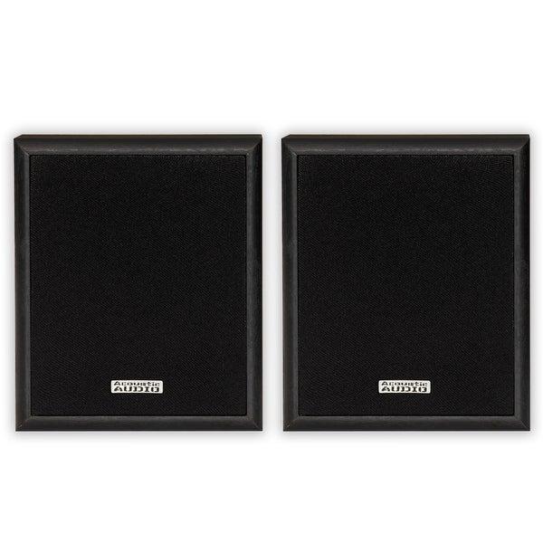 Acoustic Audio RWSP3 Bookshelf Speakers 2 Way Home Theater Pair