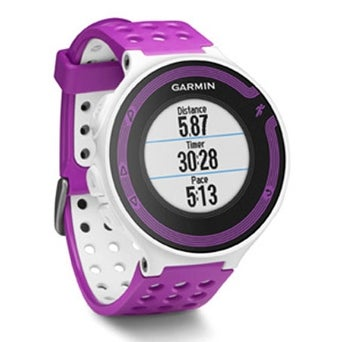 Refurbished Garmin Forerunner 220 GPS-Enabled Sports Watch w/ Tracks Distance, Pace & Heart Rate