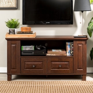 Link to Middlebrook Designs 44-inch Traditional Brown TV Storage Console Similar Items in TV Consoles
