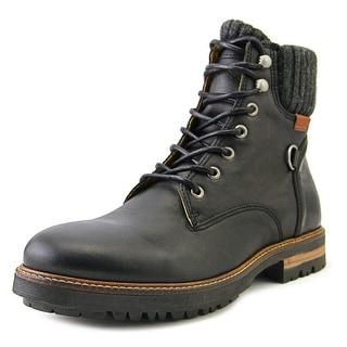 Palladium Midkiff AP Men  Round Toe Leather Black Boot