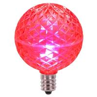 Club Pack of 25 LED G50 Pink Replacement Christmas Light Bulbs - E12 Base