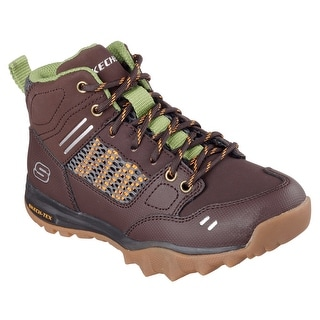 Skechers 94040L CHOC Boy's COLD WEATHER HIKER Boot