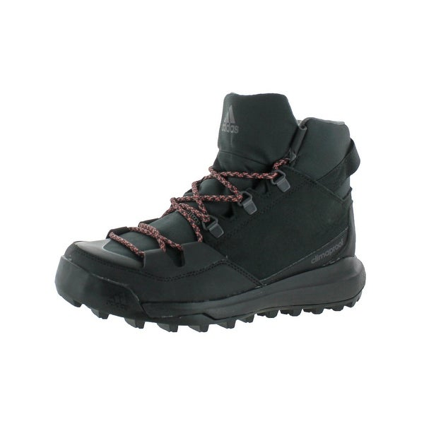Adidas Mens CW Winterpitch Mid CP Hiking Boots Stealth Climaproof - 6 medium (d)