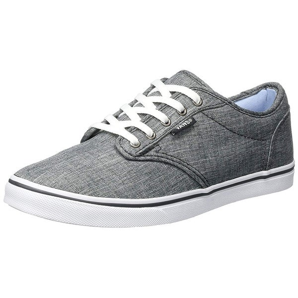 Details zu Vans Atwood Low Womens Girls Canvas Trainers Shoes Size UK 3 EU 35 Navy (SAE)
