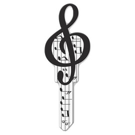 Lucky Line Key Shapes Decorative House Key