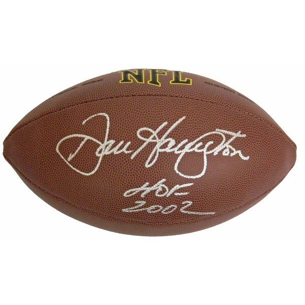 Dan Hampton Wilson NFL Full Size Super Grip Football wHOF 2002 - Black - 5' x 8'. Opens flyout.