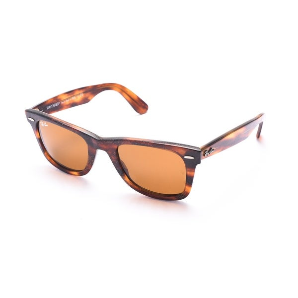 Ray-Ban Original Wayfarer Distressed Sunglasses Tortoise - Brown - Small