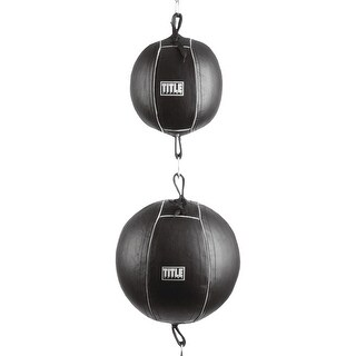 Title Boxing Traditional Double-Double End Bag