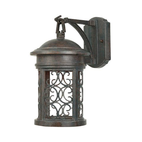 "Designers Fountain 31121-MP 1 Light 9"" Wall Lantern from the Dark Sky"