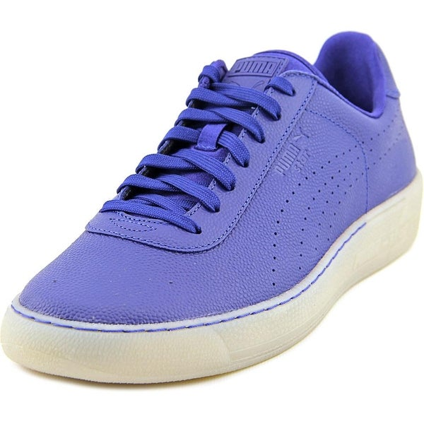 Puma Star Men Round Toe Leather Sneakers