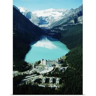 Poster Print entitled Lake Louise, Banff, Canada