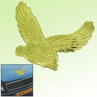 Gold-tone Color Eagle Car Decoration Logo Badge New