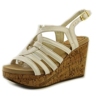 Jacobies Riva 15 Women Open Toe Synthetic Wedge Sandal