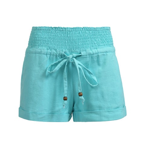 NE PEOPLE Womens Casual Fit Stretch Workout Elastic Waist Short Pants