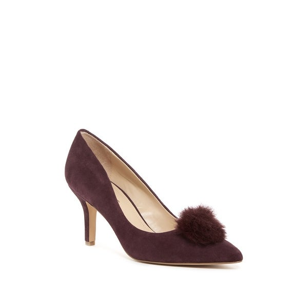 Charles by Charles David Womens Sadie Fur Pointed Toe Classic Pumps