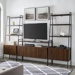 Link to Carbon Loft Lahuri  3-Piece Ladder Storage Entertainment Wall Similar Items in Living Room Furniture