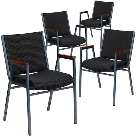 Heavy Duty Stackable Arm Chair (Set of 4)