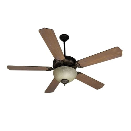 "Craftmade K10649 52"" 5 Blade Energy Star Indoor Ceiling Fan - Blades and Light Kit Included"