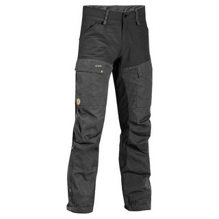 Fjallraven Keb Trousers Durable G-1000 Material - Black