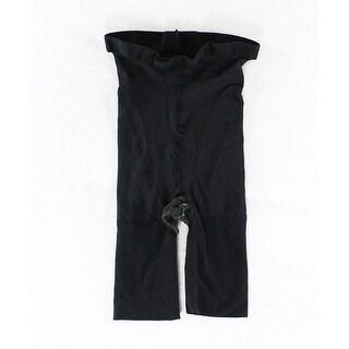 Shapewear NEW Solid Deep Black Women's Size A High Briefs Shapewear
