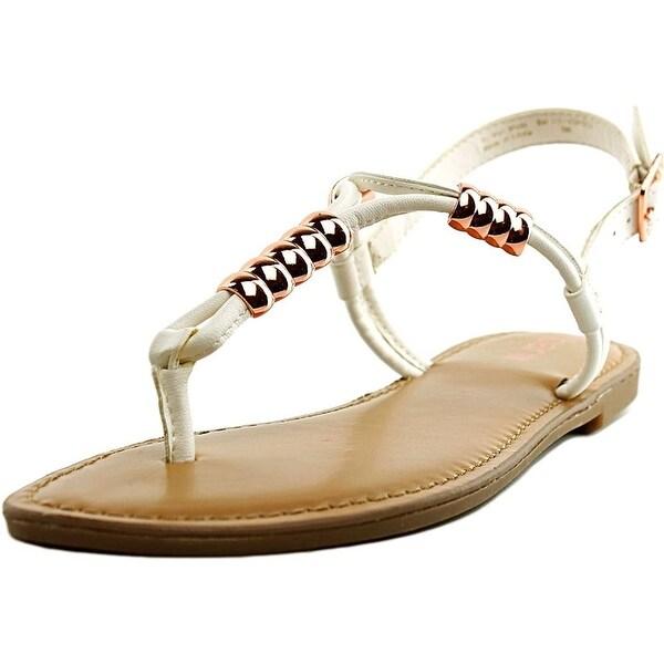 Bar III Womens Vortex Split Toe Casual T-Strap Sandals