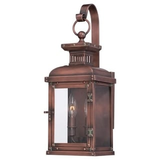"""The Great Outdoors 9072-264 2 Light 6.75"""" Width Outdoor Wall Sconce from the Copperton Collection"""