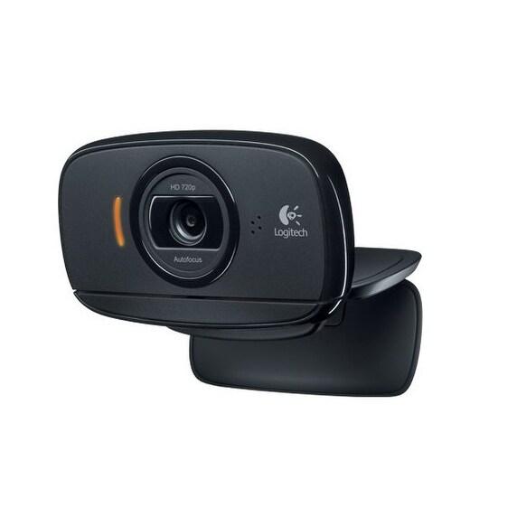 Logitech 960-000841 Webcam Hd, 2.0 Mp, Black