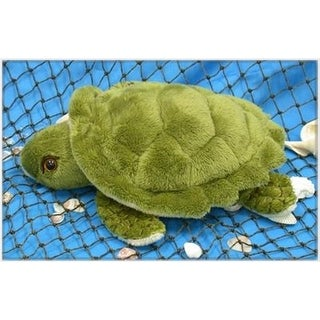 Wishpets Unisex-Child Turtle Plush Toy Green