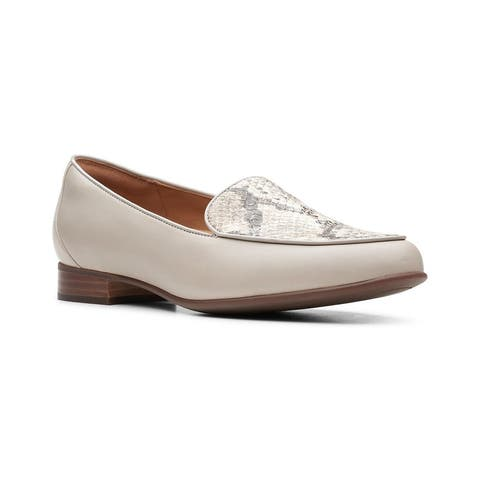 Clarks Un Blush Ease Leather & Suede Loafer
