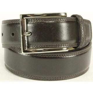 Trafalgar Mens 1101PT14 Leather Belt 40 Dark Brown