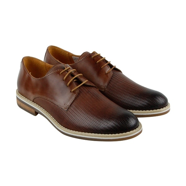 Kenneth Cole New York In The Loop Mens Brown Casual Dress Oxfords Shoes