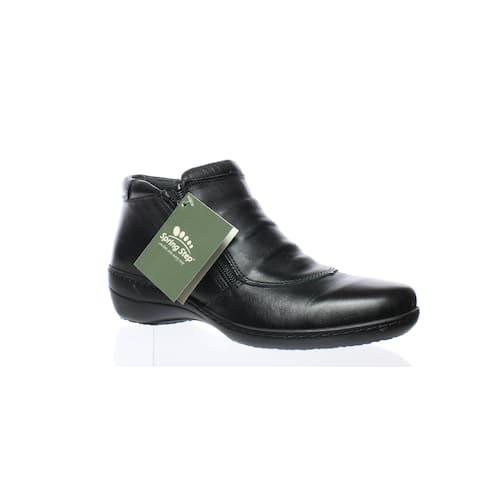 262ddaee6 Spring Step Womens Briony-B Black Ankle Boots EUR 37