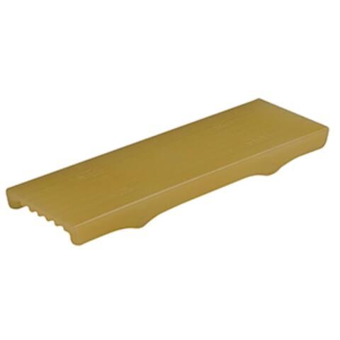 "11"" Gold C.E. Smith Flex Keel Pad - Full Cap Style"