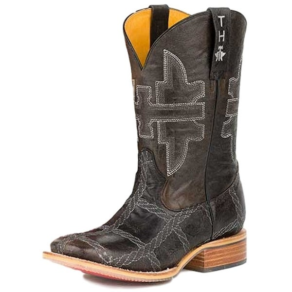 Tin Haul Western Boots Mens Rope Burn Sole Brown
