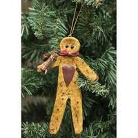 Resin Gingerbread Ornament