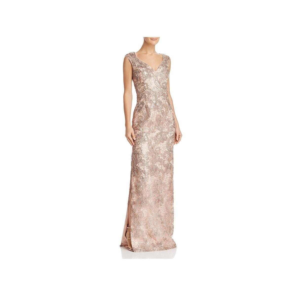 97fba123056e Buy Beige Evening & Formal Dresses Online at Overstock | Our Best Dresses  Deals