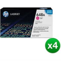 HP 648A Magenta Original LaserJet Toner Cartridge For US Government (CE263AG)(4-Pack)