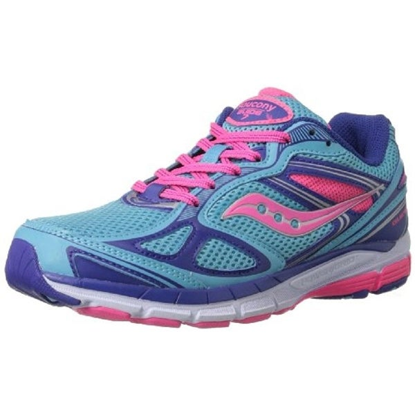 Saucony Girls Athletic Shoes Colorblock Mesh