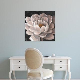 Easy Art Prints Tim OToole's 'Neutral Fleur I' Premium Canvas Art