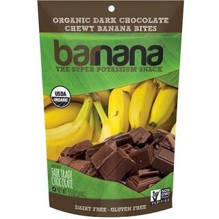 Barnana - Organic Chocolate Chewy Banana Bites ( 12 - 3.5 oz bags)