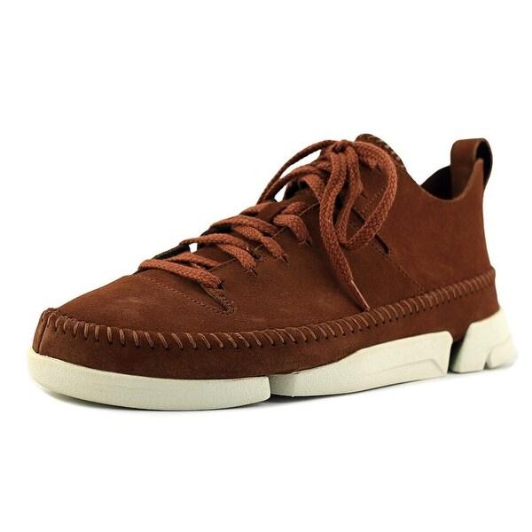 Clarks Trigenic Flex Men Round Toe Suede Sneakers