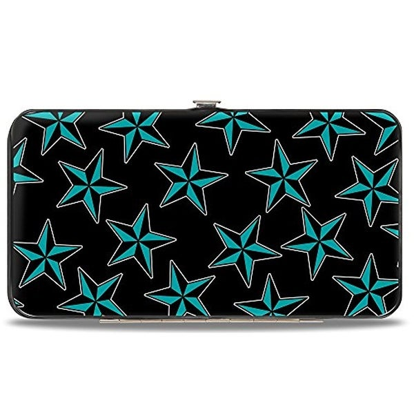 Buckle-Down Hinge Wallet - Nautical Star
