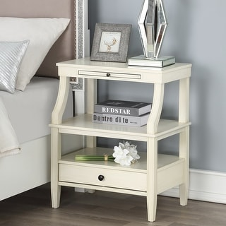 Link to Newport Storage Nightstand by Greyson Living Similar Items in Living Room Furniture