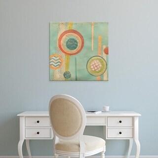 Easy Art Prints June Erica Vess's 'Bits & Pieces II' Premium Canvas Art