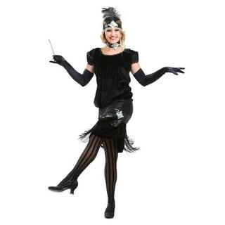 Deluxe Velvet Flapper Costume (4 options available)