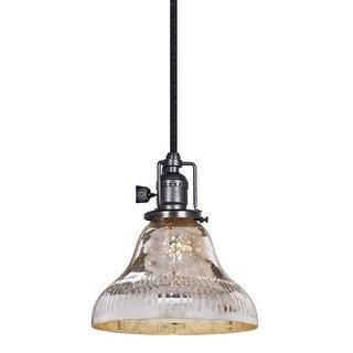 "JVI Designs 1200 S11-SR Bell Single Light 7"" Wide Mini Pendant"