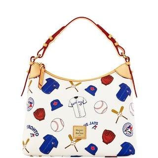 Dooney & Bourke MLB Bluejays Hobo (Introduced by Dooney & Bourke at $218 in Feb 2014) - White
